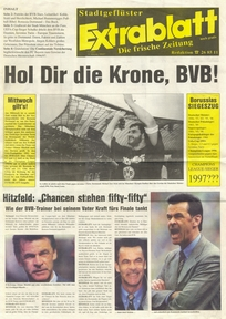 Borussia Dortmund issue: Borussia Dortmund v Juventus  28-May-97