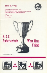 Anderlecht v West Ham United