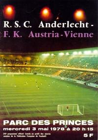 Anderlecht v Austria