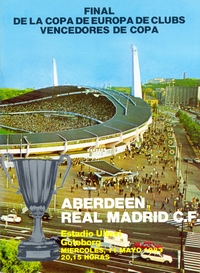 Aberdeen v Real Madrid