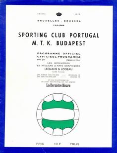 Sporting Lisbon v MTK Budapest