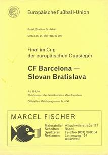 Slovan Bratislava v Barcelona