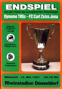 Dinamo Tbilisi v Carl Zeiss Jena