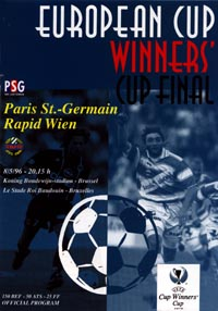 Paris St Germain v Rapid Vienna