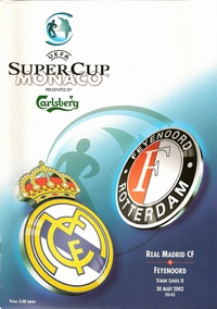 Real Madrid v Feyenoord