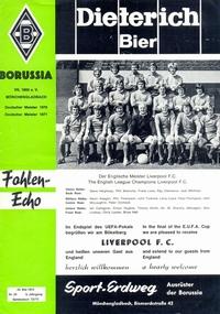 Borussia Monchengladbach v Liverpool FC