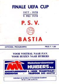 PSV Eindhoven v SEC Bastia