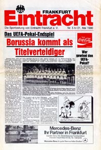 Eintracht Frankfurt/Main v Borussia Monchengladbach