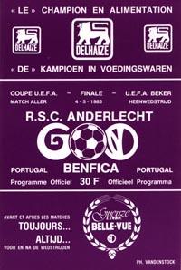 RSC Anderlecht v SL Benfica