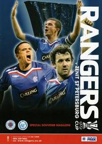 Zenit St. Petersburg v Glasgow Rangers