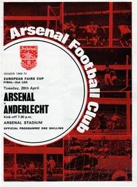 Arsenal FC v RSC Anderlecht
