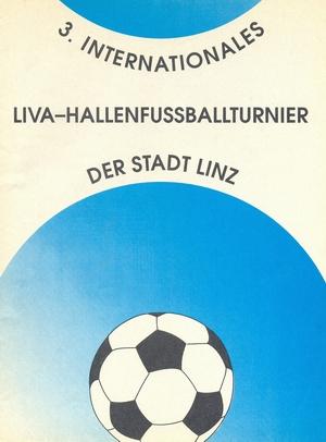 """17-19 декабря 1989г.  Международный турнир по мини-футболу """"3.Internationales Liva-Hallenfussballturnier der Stadt Linz"""""""