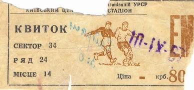 """""""Динамо"""" (Киев) vs. """"Кайрат"""" (Алма-Ата)"""