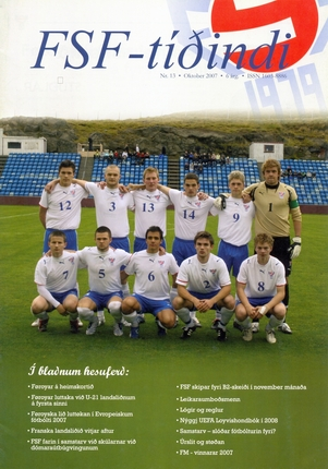 Ukraine vs. Faroe Islands (FSF magazine, n13 - october 2007)