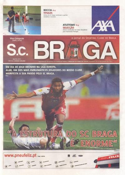 SC Braga vs. Dynamo Kiev 14/04/2011